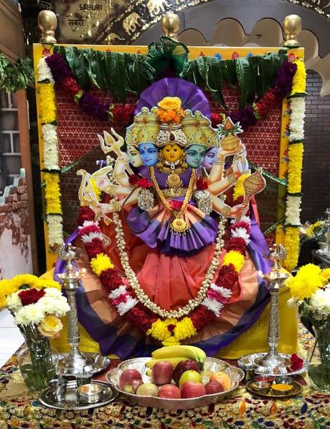 DAY 2 : 10/10/2018 Wednesday Sri Gayathri Devi Alankaram