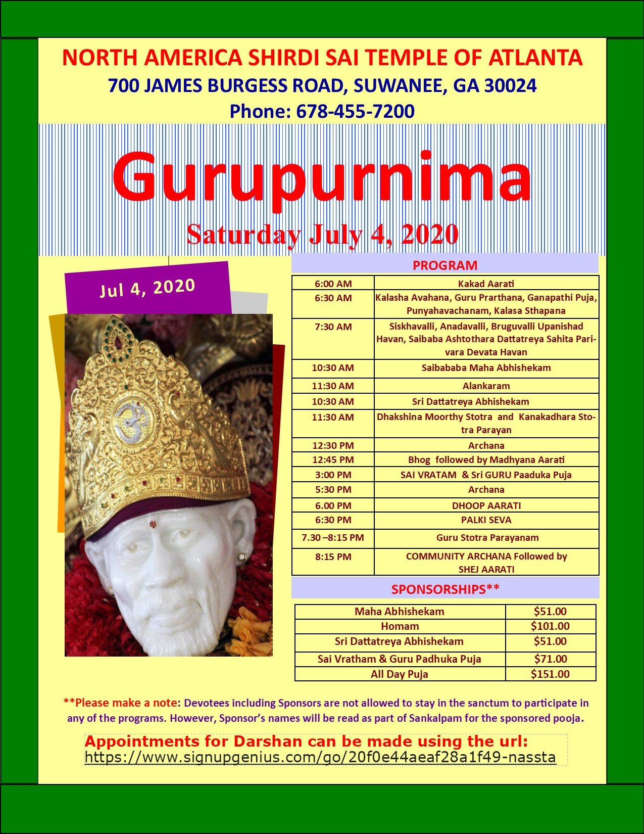 GuruPurnima July4th 2020